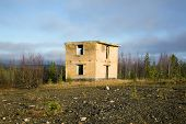 Abandoned Building Military Ground Control Point
