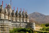 India, Jain Temple In Ranagpur