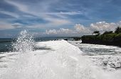 picture of tanah  - Tanah Lot temple Complex in Bali island Indonesia - JPG