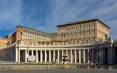 pic of apostolic  - View of Apostolic Palace from Saint Peter - JPG