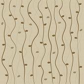 pic of twisty  - Brown twisted vine pattern background - JPG