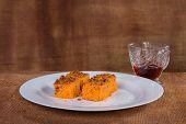 picture of carrot  - dessert - JPG