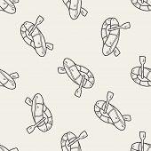 foto of raft  - Rafting Doodle - JPG