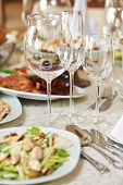 stock photo of catering service  - Catering services - JPG