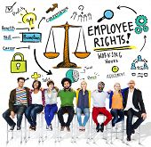 picture of huddle  - Employee Rights Employment Equality People Friendship Huddle Concept - JPG