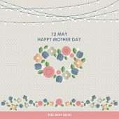 picture of happy day  - Vintage Happy Mothers - JPG