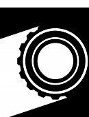 picture of racks  - Various gear wheel rack wheel vector graphics - JPG