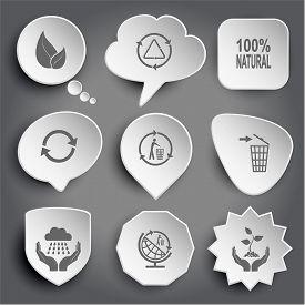 image of recycle bin  - leaf - JPG