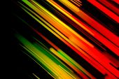 picture of traffic light  - Abstract colorful background - JPG