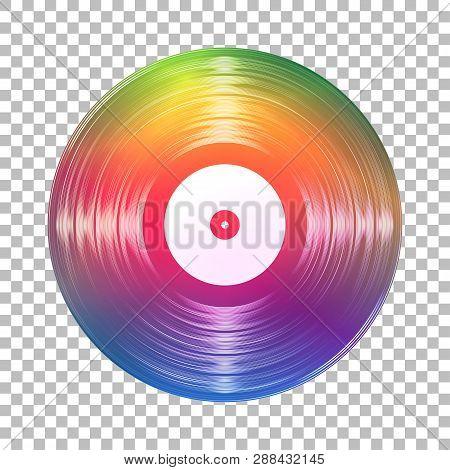 Gramophone Rainbow Vinyl Lp Record