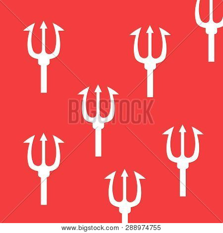 Pattern With A Trident Trident
