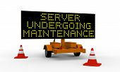 Server Undergoing Maintenance