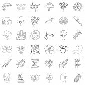 Zoology Icons Set. Outline Style Of 36 Zoology Icons For Web Isolated On White Background poster