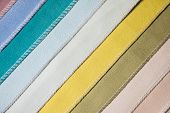 Abstract Diagonal Textile Background Multicolored Stripes From Factory Upholstery Textiles For Furni poster