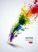 EPS10 vector tinta abstrato