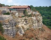 Kenesa - Karaite Prayer Houses, Chufut-kale, Crimea, Ukraine