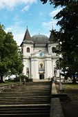 SAINT HOSTYN IN MORAVIA, CZECH REPUBLIC CIRCA AUGUST 2006 : The famous pilgrimage church of Virgin M