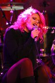 SOLANA BEACH, CA - JAN. 15: Allison Iraheta performs on January 15, 2014 at the Belly Up Tavern in S