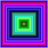 image of hypnotizing  - An hypnotic vintage colored squares background pattern - JPG