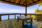 Постер, плакат: Terrace With Incredible View On The Sea Thailand Krabi Lanta