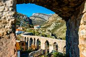 picture of old bridge  - Old Bridge in Stari Bar - JPG