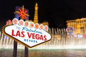 foto of strip  - Las vegas and strip background in Nevada
