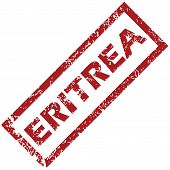 foto of eritrea  - New Eritrea grunge rubber stamp on a white background - JPG