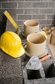 picture of chimney  - Construction of modular ceramic chimney in the house - JPG