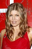 LOS ANGELES - APR 9:  Fergie aka Stacy Ferguson arriving at the 2011 American Red Cross Santa Monica