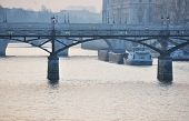 picture of matinee  - A barge on the river Seine - JPG