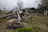 picture of katrina  - 12-28-06 Ninth Ward of New Orleans over a year after Katrina showing the devastation. - JPG