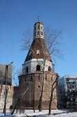 Постер, плакат: Россия Москва Башня патриархальной монастырь в новом Симонов