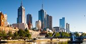 pic of shortbread  - The Melbourne skyline from Southbank looking towards Flinders Street station - JPG