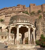 Meherangarh Fort in Jodhpur, India