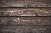 Wooden Brown Surface. Rustic Background. Empty Plank Wooden Wall Texture Background. Interior Detail poster