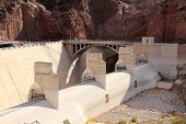 stock photo of engineering construction  - Hoover Dam - JPG