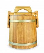 Wooden Oak Barrel
