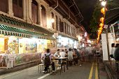 Singapore - April 23: Located Within The Larger District Of Outram, Singapore's Chinatown Is An Ethn
