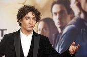 BERLIN - AUG 20: Robert Sheehan at the 'The Mortal Instruments: City of Bones' premiere at Sony Cent
