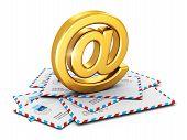 Постер, плакат: E mail concept