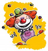image of clown face  - Cartoon - JPG