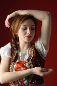 Polish Folk Woman