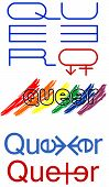pic of queer  - Queer sign simbols gender illustration art vector - JPG