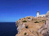 Lighthouse On Cavalleria Cape On Minorca