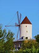 Windmill In Es Mercadal On Minorca