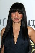 LOS ANGELES - FEB 15:  Kelly Hu at the Annual Make-Up Artists And Hair Stylists Guild Awards at Para