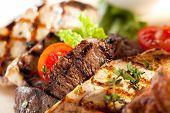 pic of brisket  - Grilled Meat Plate - JPG