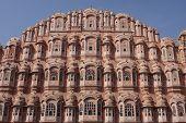 image of brothel  - Hawa Mahal building in Jaipur - JPG
