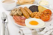 Постер, плакат: Full English Breakfast