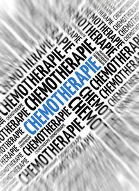 image of chemotherapy  - German marketing background  - JPG